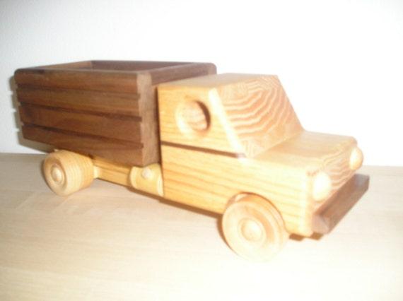 Wooden Toy Grain Truck