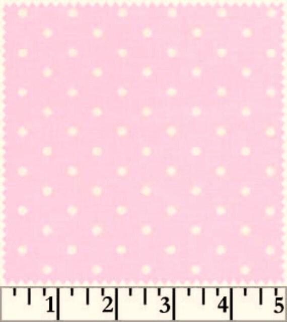 Sale Baby Basics Fabric  Pinky Dot   New
