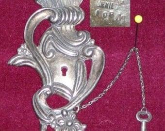 Los Castillos Rare Silver Brooch