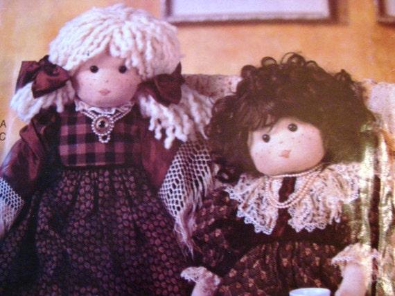 Vogue Soft Cloth Doll Pattern 26 inch Dolls and Dresses  UNCUT