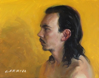 Yellow - Original Oil Painting