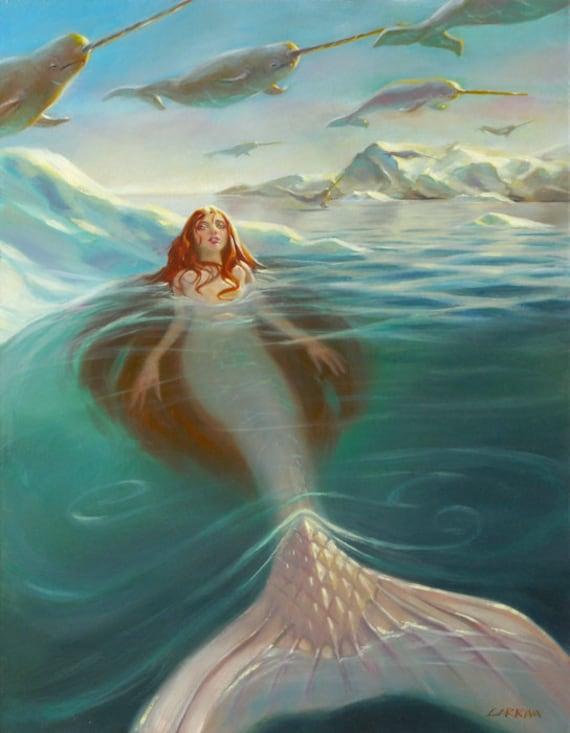 Narwhal Sky - Fine Art Print