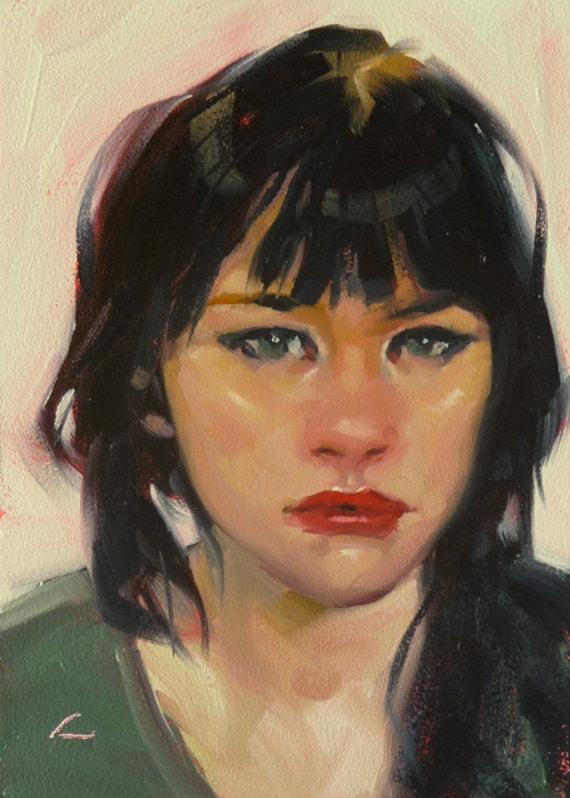 Liquid Look - Original Oil Painting
