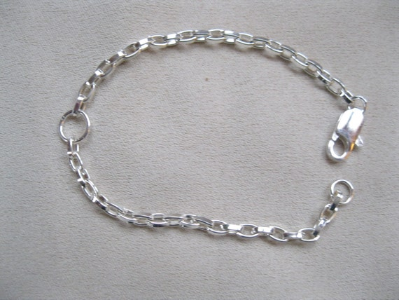 5 1/2 Inch Silver Plate Chain Extender