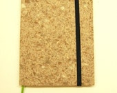 Small Weekly Organizer\/Planner with elastic and ribbon, Woodland Brown