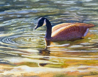 Canada Goose down sale authentic - canada geese art �C Etsy