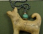A Faithful Dog Necklace