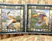 Throw Pillow Covers, Mallards in the Marsh Print, Set of 2
