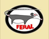 Feral Organic Cotton T-Shirt