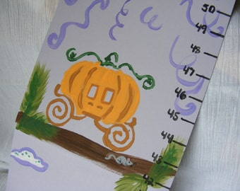 Foldable Children's Growth Chart, Fairytales