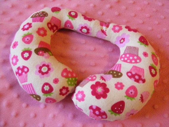 Toddler Anti-Slump Pillow, Cupcakes