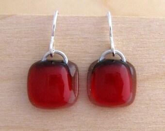 Poppi Red Earrings