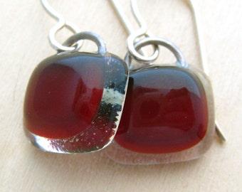 Crimson Earrings