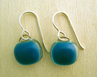 Steel Blue Earrings