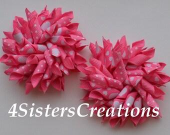 Custom Print Hot Pink Valentine Heart Small Korker Set Valentine's Day