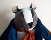 Badger Soft Sculpture