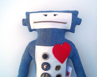 Robot Plush Toy