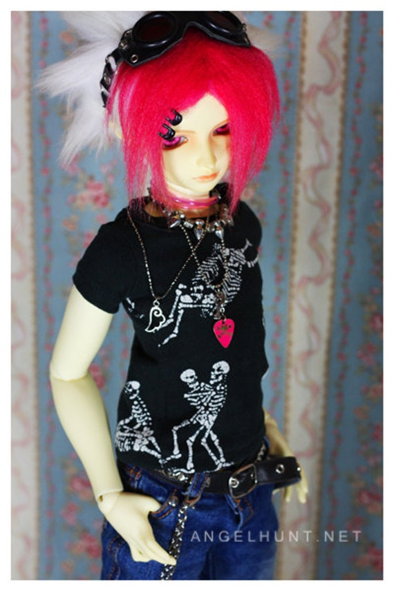 BJD SD sized Skeleton Sex Tee Last One