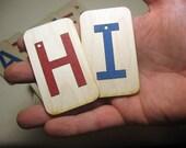 Mini UPPERCASE Sandpaper letters