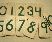 Mini Sandpaper Numbers 0-10