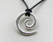 Sterling Tribal Koru - constant motion