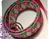 Woven ribbon belt tutorial INSTRUCTIONS