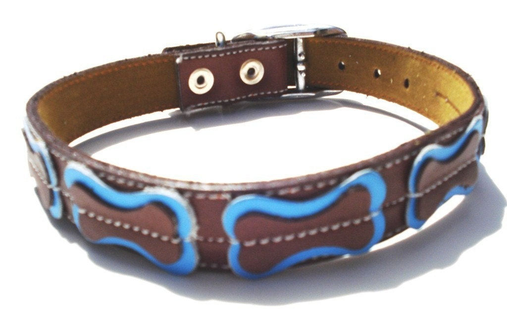 Cool leather dog collars