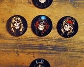 Guns 'N' Roses Skull Magnets