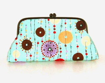 Jewel Mobile Metal Frame Clutch/Purse