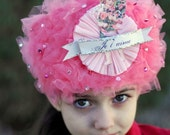 Je t'aime (  I LOVE YOU)  French Valentines Day Crown