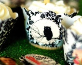 6-Spooky Creepy Gothic and Generally Weird Cupcake Wrappers