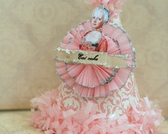 Eat Cake - MARIE ANTOINETTE Party Hat