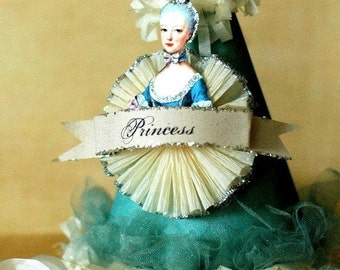 MARIE ANTOINETTE Robin Egg Blue Party Hat