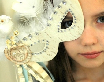 Marie Antoinette French Inspired Party Mask
