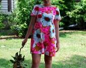 SALE Aloha Vintage Recycled Dress