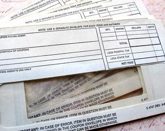1 Vintage Paper Banking Deposit Envelope American Ephemera