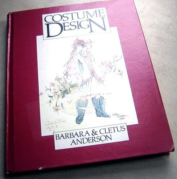 Costume Design Reference Book by Barbara and Cletus Anderson