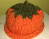 Halloween Pumpkin Hat for your little Pumpkin - Reserved for Rhoda