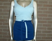 On Hold for MelindaLieshout DEADSTOCK NWT Vintage 50's Bombshell Swimsuit Bathing Suit Peter Pan Designed by Oleg Cassini