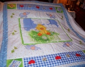 Baby Little Suzy's Zoo Characters Cotton Baby/Toddler Quilt-NEWLY MADE 2016