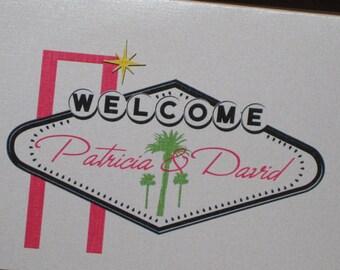 Boarding Pass Invitation. Las Vegas wedding invitation. Boarding pass save the date. DEPOSIT: Las Vegas Design