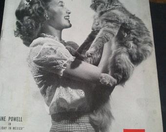 Vintage LIFE Magazine 1946 Sept 9 Jane Powell Swim Suits The Carnival George Allen