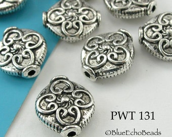 14mm Celtic Cross Pewter Beads (PWT 131) 8 pcs BlueEchoBeads