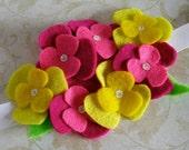 Wallflower headband - neon