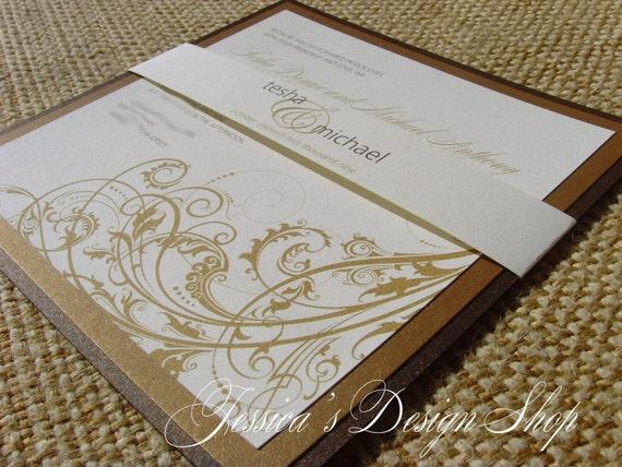 The Tesha Wedding Invitation Suite
