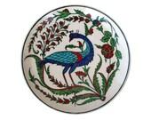 A Rimless Iznik Pottery Dish
