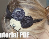 Headband Tutorial 3 Rosette Emailed PDF