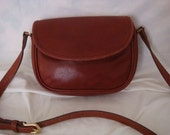Vintage Tan Coach Leather Bag