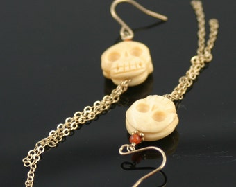 Skully earrings