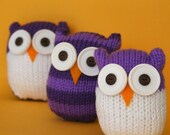 Quick and Easy Owl - INSTANT DOWNLOAD PDF Knitting Pattern